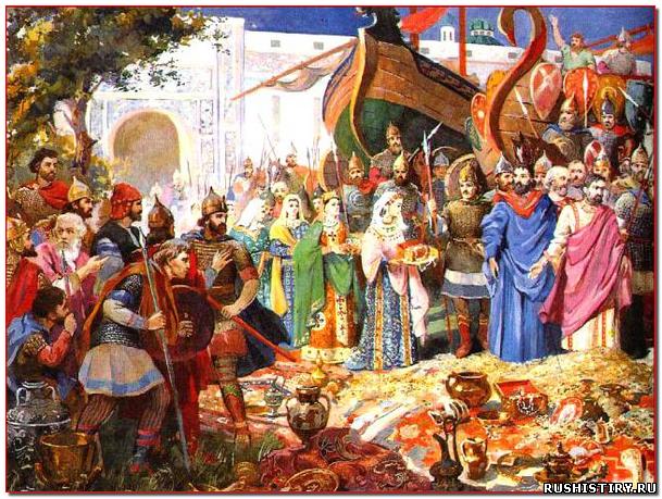 История государства русского Незавидная смерть или жадность Игоря