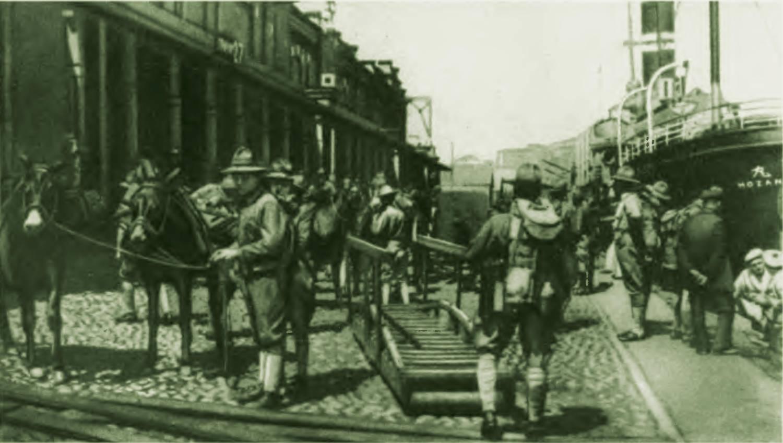 Солдаты США в Владивостоке