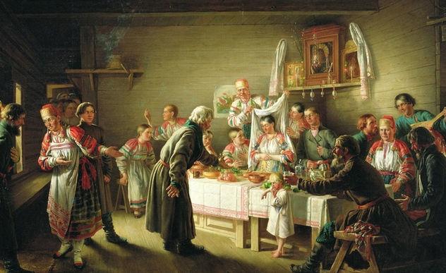 Свадьба древних славян